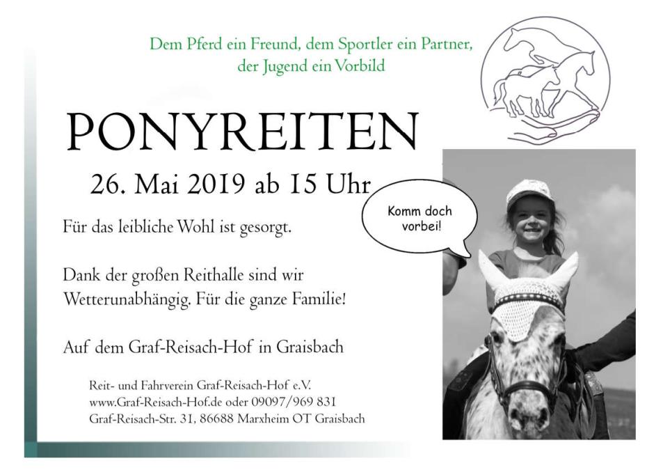 Ponyreiten 2019
